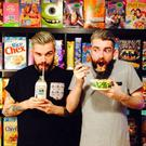 Brothers Alan and Gary Keery, owners of Cereal Killers cafe in London.