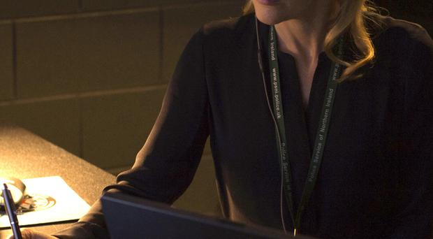 Gillian Anderson as serial killer-hunting cop Stella Gibson in BBC drama The Fall