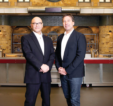 Sweet talk: Gregg Wallace and John Torode