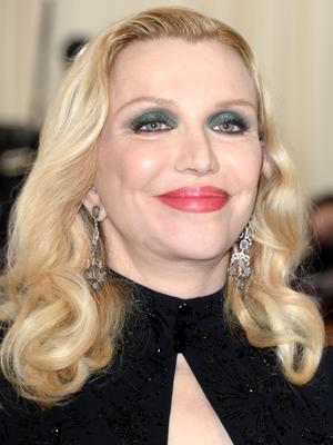 Courtney Love is being sued by her former son-in-law who alleges she tried to have him killed over a guitar (Aurore Marechal/PA)