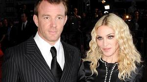 Madonna used to be married to film director Guy Ritchie