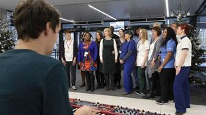 The Lewisham and Greenwich NHS Choir's A Bridge Over You racked up more than 150,000 downloads