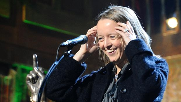 Emily Eavis gave more clues about Glastonbury's remaining headliners (Ian West/PA)