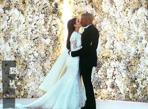 Kim Kardashian and Kanye West got married in Italy in 2014 (E! News/PA)