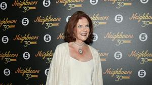 Anne Charleston attending the Neighbours turns 30 celebration evening at Cafe De Paris, London