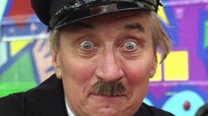 Stephen Lewis, as Blakey in sitcom On The Buses