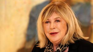 Marianne Faithfull is in hospital with Covid-19 (PA)