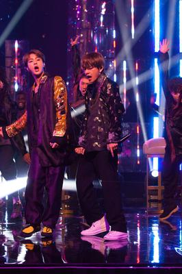 K-pop superstars BTS are one of the world's biggest musical acts (Tom Haines/PA)