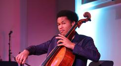 Royal wedding cellist Sheku Kanneh-Mason has broken a new chart record (Yui Mok/PA)