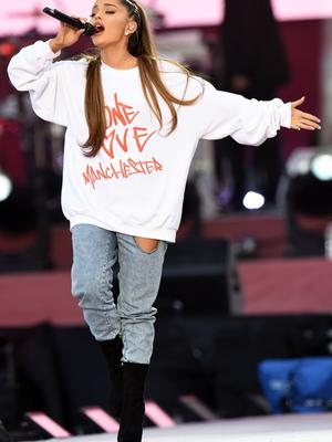 Ariana Grande will open the Billboard Music Awards, which take place two days before the first anniversary of the Manchester Arena bombing (Dave Hogan for One Love Manchester/PA)