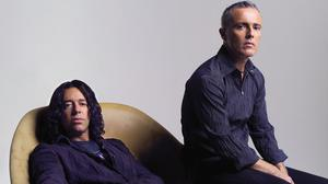 Roland Orzabal, left, has re-released the Tears For Fears album Songs From The Big Chair with Curt Smith