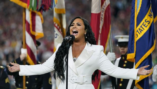Singer Demi Lovato said she has undergone a 'spiritual awakening' as she explained the meaning behind her latest tattoo (AP Photo/David J. Phillip)