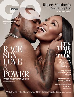 Naomi Campbell and Skepta on the cover of GQ (GQ magazine)