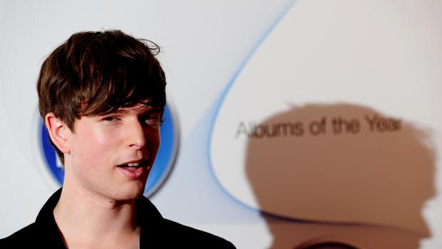 James Blake said it was only a good thing to talk about what is on your mind (Ian West/PA)