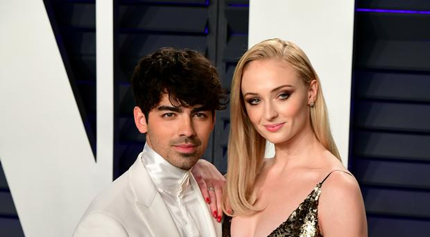 Sophie Turner and Joe Jonas appear to be married after American DJ Diplo posted a video of a wedding ceremony (Ian West/PA)