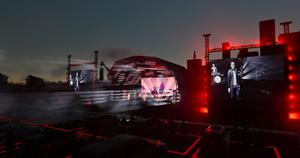 Stage Side At Night