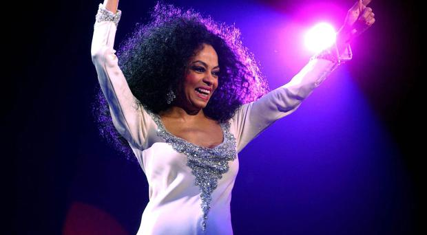 Diana Ross performs at Wembley Arena (Andy Butterton/PA)