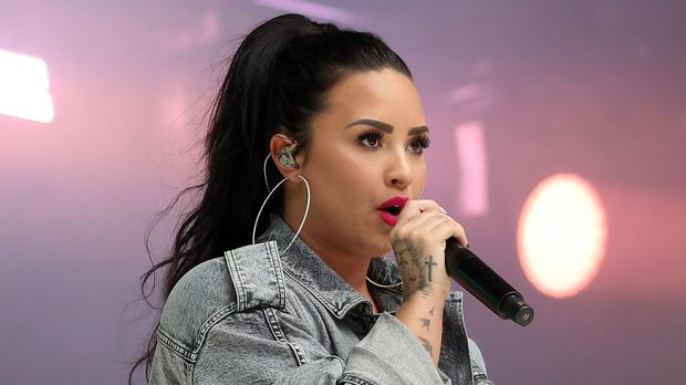 Demi Lovato recreated her 2018 near-fatal overdose in the music video for her latest single Dancing With The Devil (Isabel Infantes/PA)