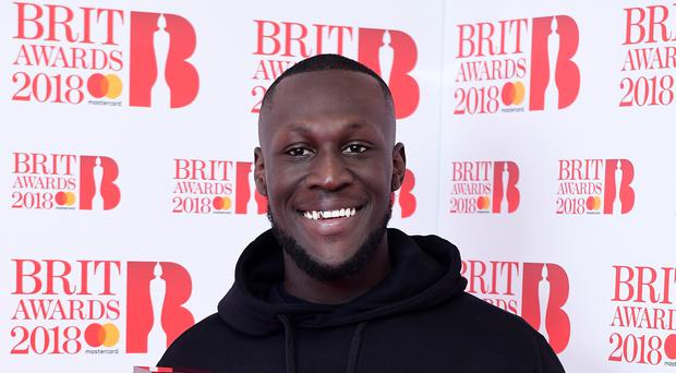"""Stormzy has pulled out of an appearance at Snowbombing Festival citing """"racial profiling"""" (Ian West/PA)"""