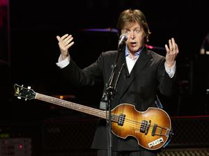 Sir Paul McCartney performs at a Teenage Cancer Trust gig (Yui Mok/PA)