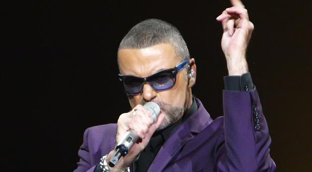 George Michael in concert (Max Nash/PA)