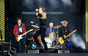 Ronnie Wood, Mick Jagger, Charlie Watts and Keith Richards of The Rolling Stones (Jane Barlow/PA)