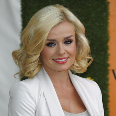Katherine Jenkins has denied reports she's been axed by her label