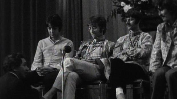 The Beatles questioned about their beliefs. (Omega Auctions)
