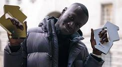 Stormzy tops both the charts (Kaylum Dennis/PA)