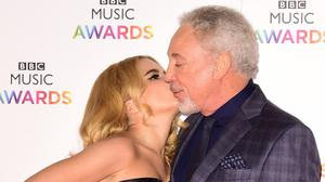 Paloma Faith and Tom Jones attending the BBC Music Awards at Earl's Court, London.