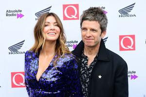Noel Gallagher and Sara McDonald (Ian West/PA)