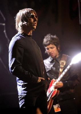 Oasis at the Brit Awards in 2007 (Yui Mok/PA)