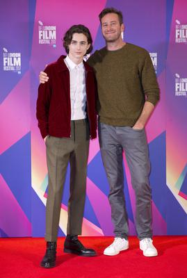 Call Me By Your Name stars Timothee Chalamet and Armie Hammer (Isabel Infantes/PA)