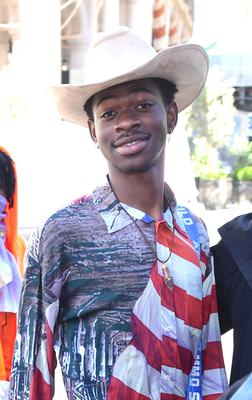 Lil Nas X's song ranked second (Ian West/PA)