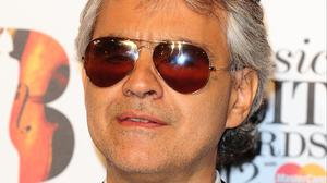 Opera star Andrea Bocelli with duet with former X Factor judge Nicole Scherzinger on his UK tour