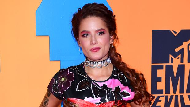 Pop star Halsey has hit out at speculation around her pregnancy (Ian West/PA)