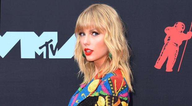 Taylor Swift attending the MTV Video Music Awards 2019 (PA)