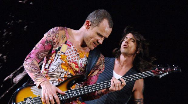 Red Hot Chili Peppers (Ian West/PA)