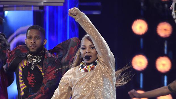Icon award winner Janet Jackson performs a medley at the Billboard Music Awards in Las Vegas. (Chris Pizzello/Invision/AP)