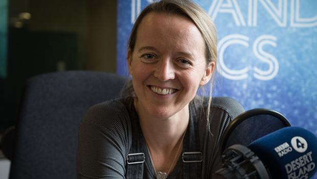 Emily Eavis said the festival could be 'scary' (Amanda Benson/BBC)