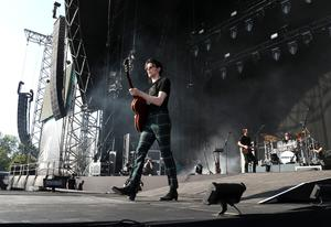 James Bay on stage (Andrew Milligan/PA)