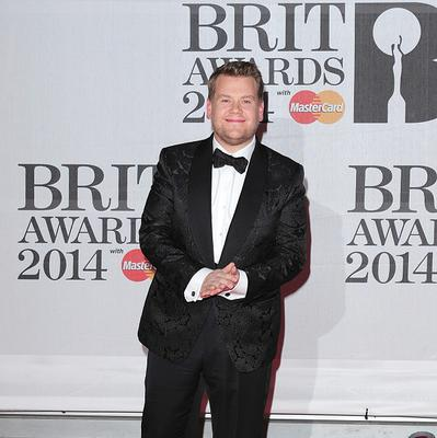 James Corden hosted the 2014 Brit Awards