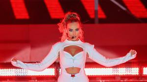 Perrie Edwards of Little Mix (Peter Byrne/PA)