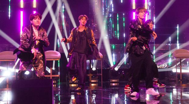 K-pop group BTS are set to release a new album next month (Tom Haines/PA)