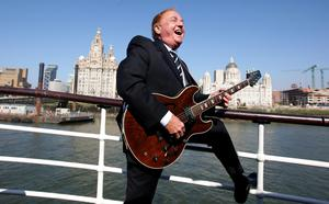 Gerry Marsden said the song was about solidarity (Dave Thompson/PA)