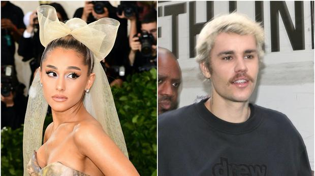 Ariana Grande and Justin Bieber have teased a 'special announcement' (Ian West/Yui Mok/PA)