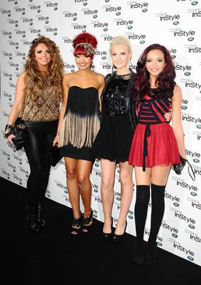 Little Mix arriving at a premiere in November 2011 (Ian West/PA)