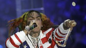 A charity has rejected a 200,000 dollar (£163,000) donation from controversial rapper Tekashi 6ix9ine (AP Photo/Luca Bruno, File)