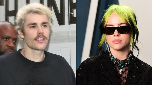 Justin Bieber and Billie Eilish previously collaborated on a remixed version of her hit song Bad Guy (Yui Mok/PA/Evan Agostini/AP)