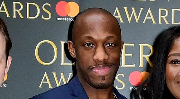 Hamilton star Giles Terera said he is 'surprised, happy and very thankful' to be recognised in the New Year Honours (Ian West/PA)